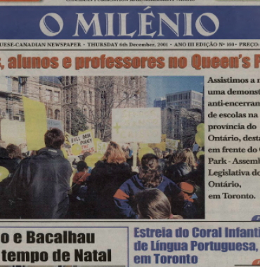 O MILENIO: 2001/12/06 Issue 160