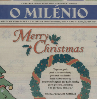 O MILENIO: 2001/12/20 Issue 162