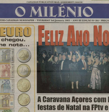 O MILENIO: 2002/01/03 Issue 164