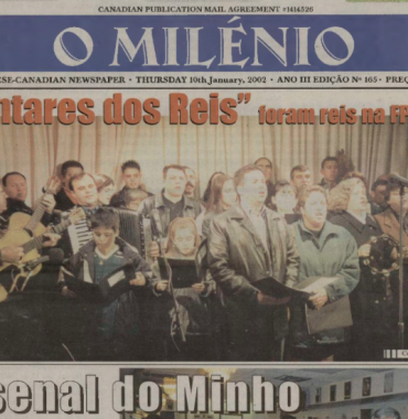 O MILENIO: 2002/01/10 Issue 165
