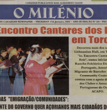 O MILENIO: 2002/01/17 Issue 166