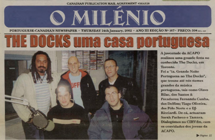 O MILENIO: 2002/01/24 Issue 167