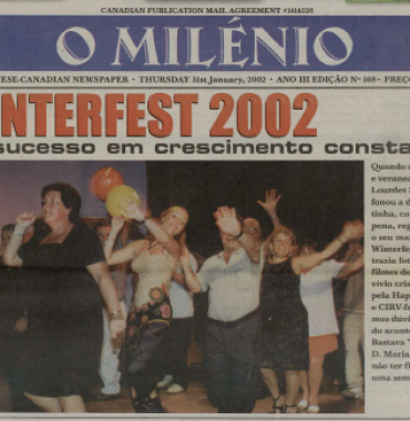 O MILENIO: 2002/01/31 Issue 168
