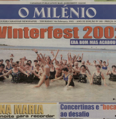 O MILENIO: 2002/02/07 Issue 169