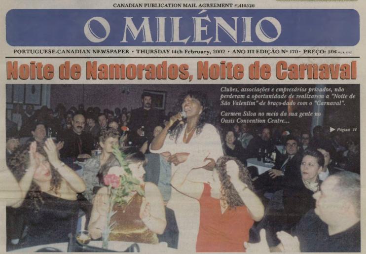 O MILENIO: 2002/02/14 Issue 170