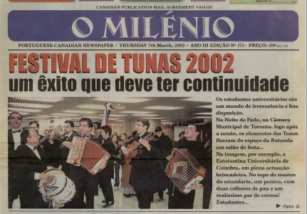 O MILENIO: 2002/03/07 Issue 173