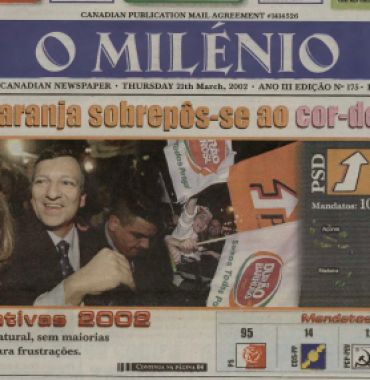 O MILENIO: 2002/03/21 Issue 175