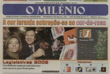 O MILENIO: 2002/03/21 Issue 175