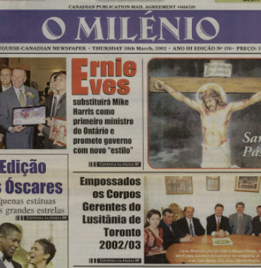 O MILENIO: 2002/03/28 Issue 176