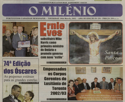 O MILENIO: 2002/03/28 Issue 176