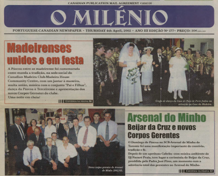 O MILENIO: 2002/04/04 Issue 177