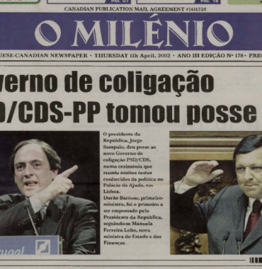 O MILENIO: 2002/04/11 Issue 178