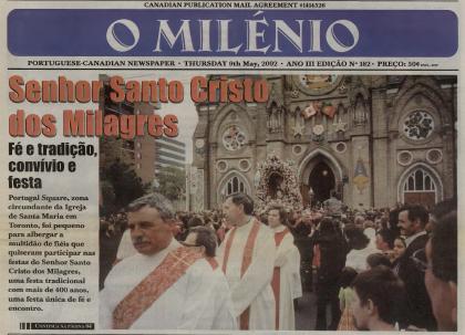 O MILENIO: 2002/05/09 Issue 182