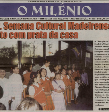 O MILENIO: 2002/05/16 Issue 183