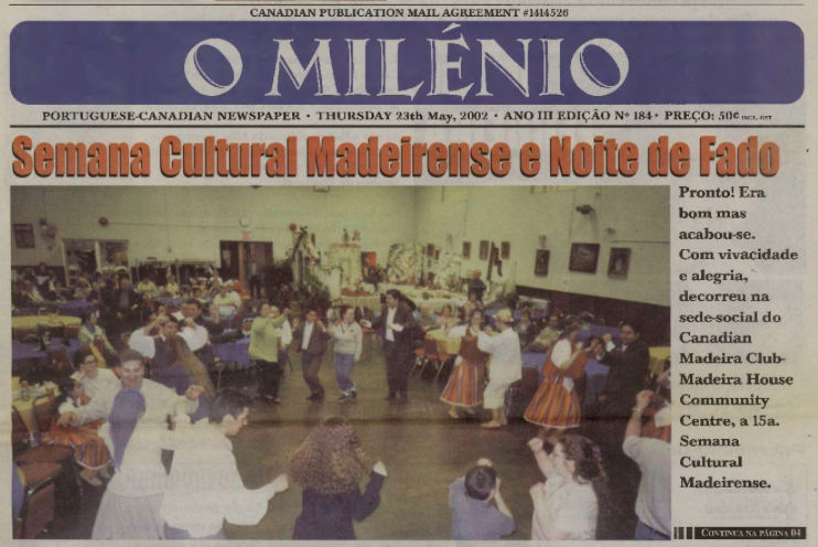 O MILENIO: 2002/05/23 Issue 184