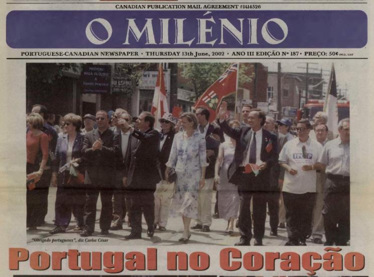 O MILENIO: 2002/06/13 Issue 187