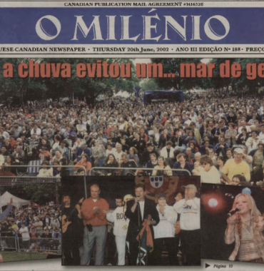 O MILENIO: 2002/06/20 Issue 188