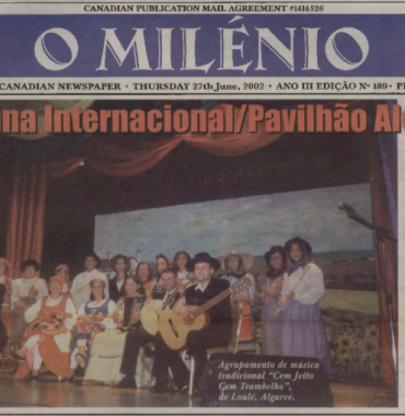 O MILENIO: 2002/06/27 Issue 189