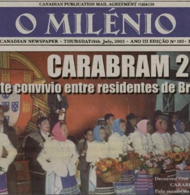 O MILENIO: 2002/07/18 Issue 192