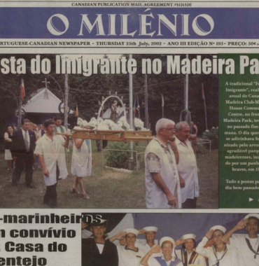 O MILENIO: 2002/07/25 Issue 193