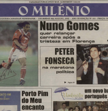 O MILENIO: 2002/08/08 Issue 195