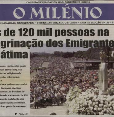 O MILENIO: 2002/08/15 Issue 196