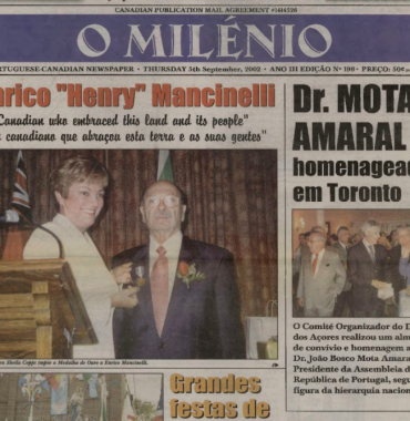 O MILENIO: 2002/09/05 Issue 199