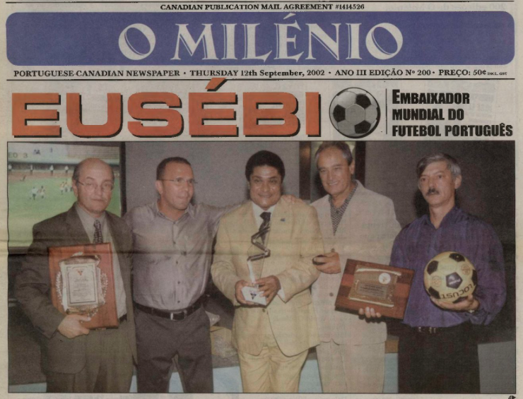O MILENIO: 2002/09/12 Issue 200