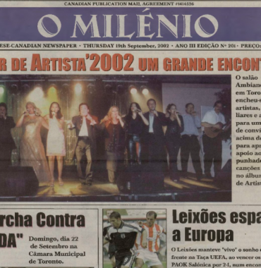 O MILENIO: 2002/09/19 Issue 201