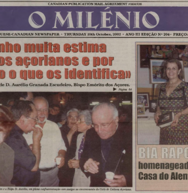 O MILENIO: 2002/10/10 Issue 204