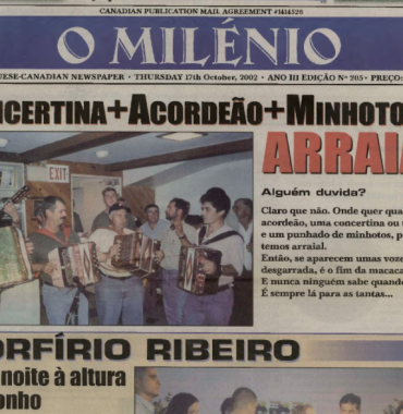 O MILENIO: 2002/10/17 Issue 205