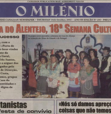 O MILENIO: 2002/10/24 Issue 206