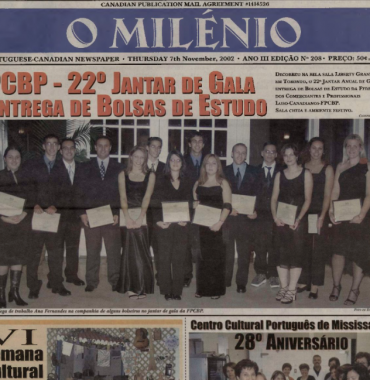 O MILENIO: 2002/11/07 Issue 208