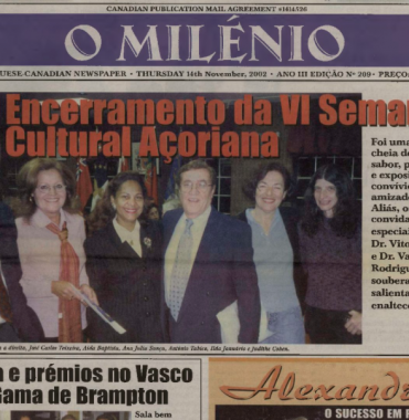O MILENIO: 2002/11/14 Issue 209