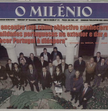 O MILENIO: 2002/11/28 Issue 211