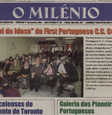 O MILENIO: 2002/12/05 Issue 212
