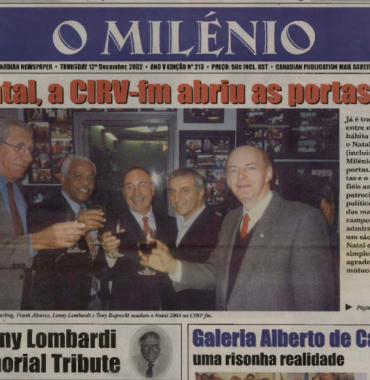 O MILENIO: 2002/12/12 Issue 213
