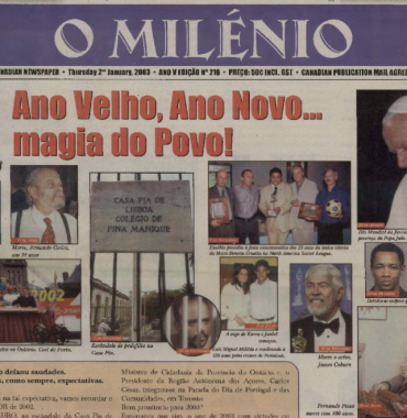 O MILENIO: 2003/01/02 Issue 216