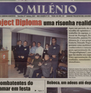 O MILENIO: 2003/01/23 Issue 219