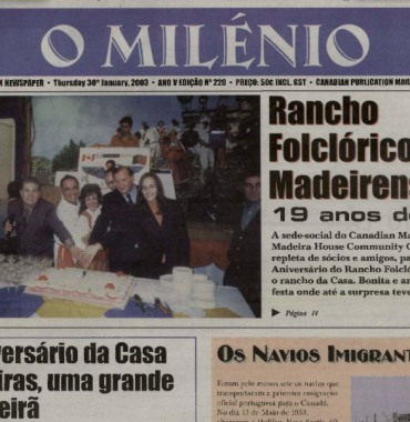 O MILENIO: 2003/01/30 Issue 220