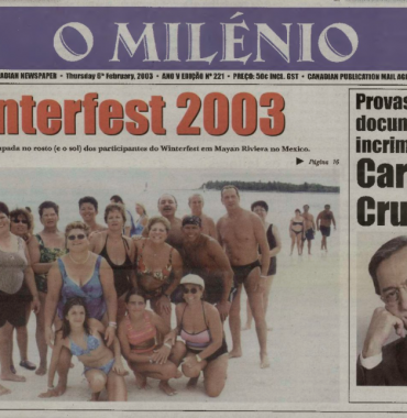 O MILENIO: 2003/02/06 Issue 221