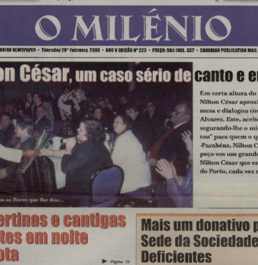 O MILENIO: 2003/02/20 Issue 223