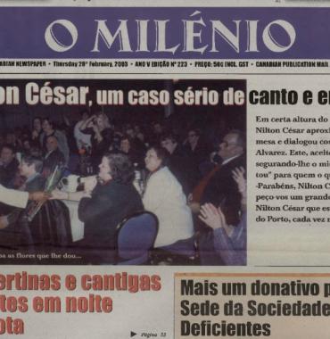 O MILENIO: 2003/02/20 Issue 223