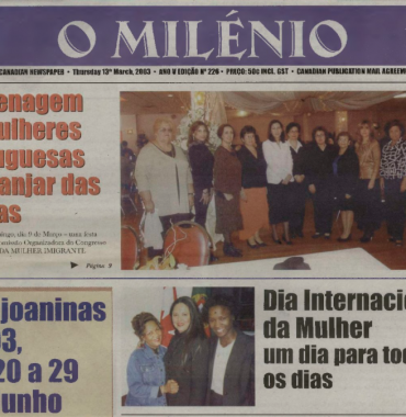O MILENIO: 2003/03/13 Issue 226
