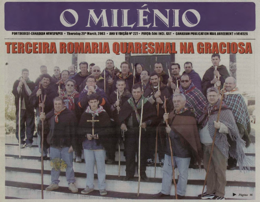O MILENIO: 2003/03/20 Issue 227