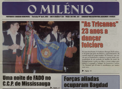 O MILENIO: 2003/04/10 Issue 230