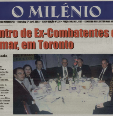 O MILENIO: 2003/04/17 Issue 231