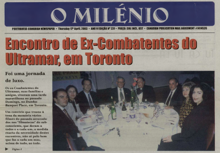 O MILENIO: 2003/04/17 Issue 231