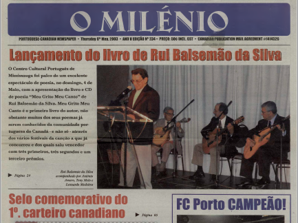 O MILENIO: 2003/05/08 Issue 234
