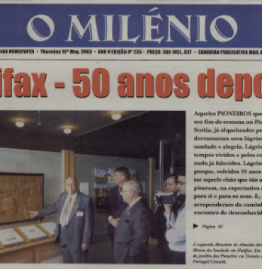 O MILENIO: 2003/05/15 Issue 235